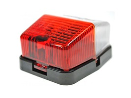 Jokon SPL115 Side Marker Red/Clear Lamp