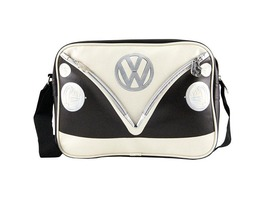 VW Campervan Bus Landscape Style Shoulder Bag Brown