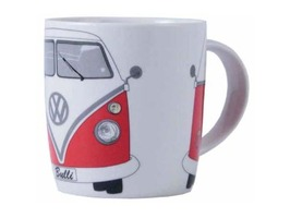 VW Camper Bone China Mug Red - Gift Boxed