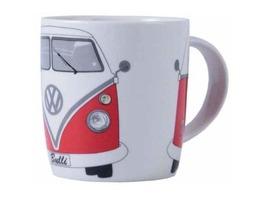 VW Camper Bone China Mug Red - Gift Boxed