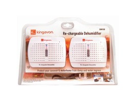 Kingavon Rechargeable Dehumidifiers - Twin Pack