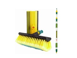 Neilson Telescopic Water Flow Thru Wash Brush & Squeegee