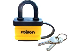 Rolson 40mm Laminated Weatherproof Padlock