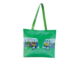 VW Campervan PVC Shopping Bag Love Bus