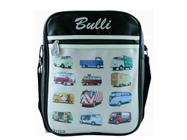 VW Campervan Portrait Style Shoulder Bag Parade