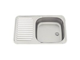 Smev Sink with Drainer 590 x 370mm