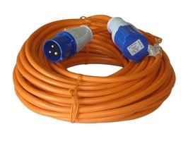 Caravan 25m Mains Extension Lead
