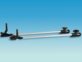 Polyplastic Tube Stay with  Lever Lock set 2