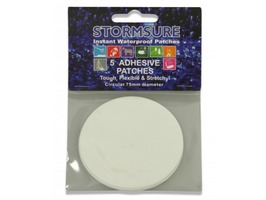 Stormsure TUFF Tape 5 pack of 75mm Repair Patches