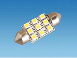 9 LED SMD 12v Festoon Bulb