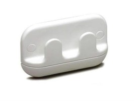 W4 2-Way Robe Hook - White