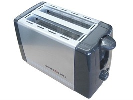 Swiss Luxx  Stainless Steel 2-Slice Toaster 230V