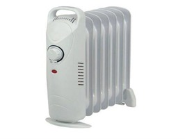 Kingavon Mini Oil Filled 7 Fin 600W Radiator heater