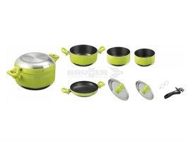 Brunner Juniper 7+1 Aluminium Cooking Pan Set