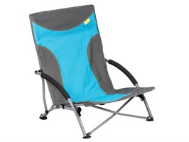 Kampa Sandy High Back Low Chair Blue