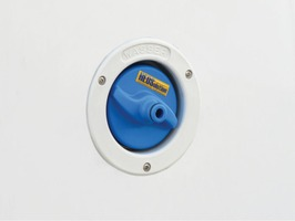 Heoswater Universal Water Filler Cap Connector Blue