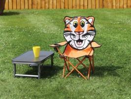 Quest Childrens Tiger Fun Folding Chair