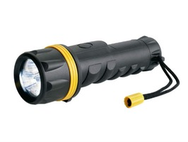 Ring 3 LED Heavy Duty Rubber Torch