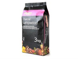 Bar-Be-Quick 3kg Lumpwood Charcoal