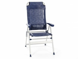Brunner Kerry Slim  Aluminium High Back Recliner Chair Midnight Blue