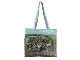VW Collection by Brisa Safari PVC Shopping Bag