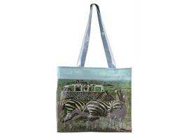 VW Collection by Brisa Safari PVC Shopping Bag