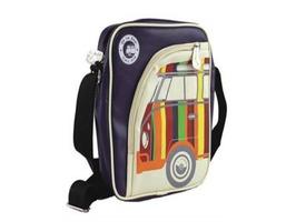 VW Tablet PC Shoulder Bag - Retro Stripes VW T1