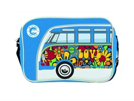 VW Campervan Bus Landscape Style Shoulder  Bag