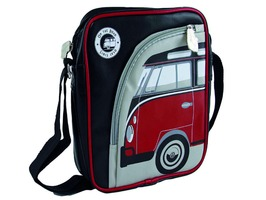 VW Tablet PC Shoulder Bag - Retro Red VW T1
