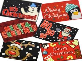 JVL Christmas Machine Washable Mats