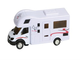 Teamsterz Die Cast Motorhome Toy with Engine Sounds & Light