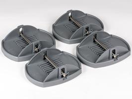Kampa Pro Pads with Metal Pin - Set of 4