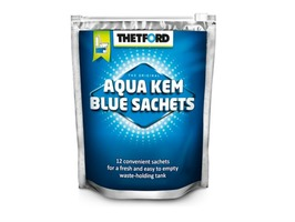 Thetford 12  Aqua Kem Blue Sachets in a Resealable  Bag