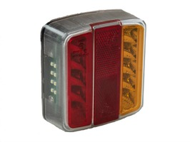 Maypole 12v LED Square Rear Combi Lamp