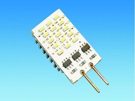 G4 SMD Flat 12v 15 LED Warm White Bulb