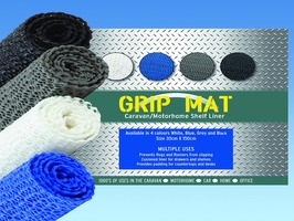 PLS Anti-Slip Grip Mat Caravan & Motorhome Shelf Liner 30cm x 150cm