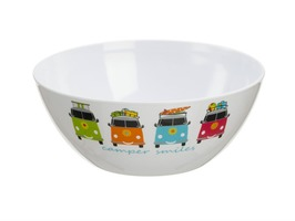 Flamefield Camper Smiles 25cm Salad Bowl