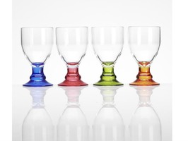 Flamefield Acrylic Bella Party Goblet Pack 4