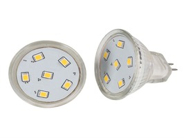 Kampa GU4 MR11 6 SMD LED 12V Bulb Pack 2