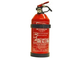 1 Kg ABC Fire Extinguisher with Pressure Gauge