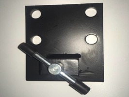 Black Car Stabiliser Drop Plates