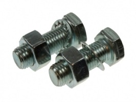 Maypole M16 x 55mm Towball Nuts & Bolts Set 2