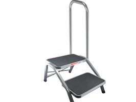 Crusader Deluxe Double Step with Quick Release Side Rail