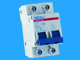 6 Amp Double Pole MCB