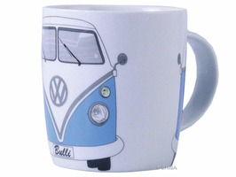 VW Camper Bone China Mug Blue - Gift Boxed