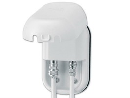 """Maxview Twin Weatherproof Socket with  """"F"""" & Coaxial Connectors"""