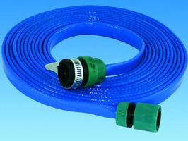 PLS 7.5m (24ft) Roll Flat Hose Assembly