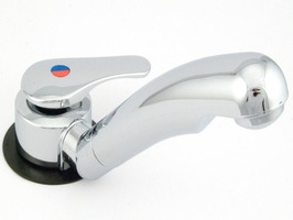Reich Twist Single Lever Mixer Chrome