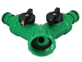 "Tap Splitter with Shut Off 1/2"" - 3/4"""