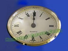 Oval Insert Clock